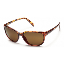 Flutter - Brown Polarized Polycarbonate by Suncloud in Columbus Ga