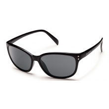 Flutter - Gray Polarized Polycarbonate by Suncloud in Meridian Id