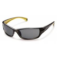 Hook - Gray Polarized Polycarbonate by Suncloud in Lake Geneva Wi
