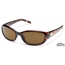 Iris - Brown Polarized Polycarbonate by Suncloud in Evanston Il