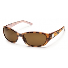 Iris - Brown Polarized Polycarbonate by Suncloud in Golden Co