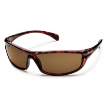 King - Brown Polarized Polycarbonate by Suncloud in Golden Co