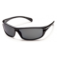 King - Gray Polarized Polycarbonate by Suncloud in Sandy Ut