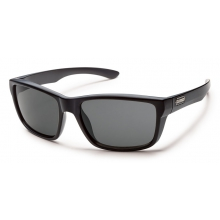 Mayor - Gray Polarized Polycarbonate by Suncloud in Meridian Id