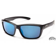 Mayor  - Blue Mirror Polarized Polycarbonate by Suncloud in Sandy Ut