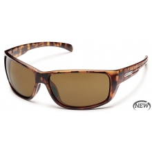 Milestone  - Brown Polarized Polycarbonate by Suncloud in Logan Ut