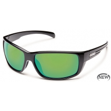Milestone  - Green Mirror Polarized Polycarbonate by Suncloud in Meridian Id