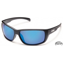 Milestone  - Blue Mirror Polarized Polycarbonate by Suncloud in Sandy Ut