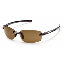 Momentum - Brown Polarized Polycarbonate by Suncloud in Sandy Ut