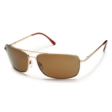 Navigator - Brown Polarized Polycarbonate by Suncloud in Juneau Ak