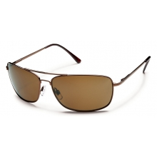 Navigator - Brown Polarized Polycarbonate by Suncloud in Victoria Bc