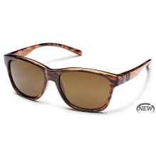 Pageant  - Brown Polarized Polycarbonate by Suncloud in Meridian Id