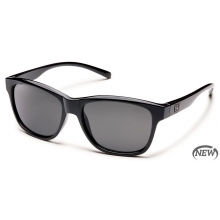Pageant  - Gray Polarized Polycarbonate by Suncloud in Meridian Id