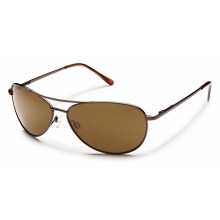 Patrol - Brown Polarized Polycarbonate by Suncloud in Seward AK