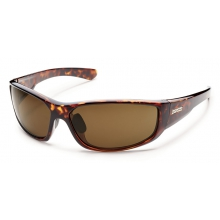 Pursuit - Brown Polarized Polycarbonate by Suncloud in Sandy Ut