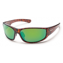 Pursuit - Green Mirror Polarized Polycarbonate by Suncloud in Lake Geneva Wi
