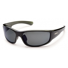 Pursuit - Gray Polarized Polycarbonate by Suncloud in Sandy Ut