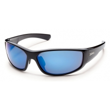 Pursuit - Blue Mirror Polarized Polycarbonate by Suncloud in Sandy Ut