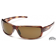 Ricochet  - Brown Polarized Polycarbonate by Suncloud in Meridian Id