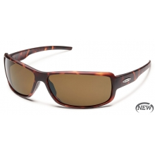 Ricochet  - Brown Polarized Polycarbonate by Suncloud in Sandy Ut