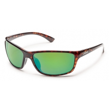 Sentry - Green Mirror Polarized Polycarbonate by Suncloud in Meridian Id