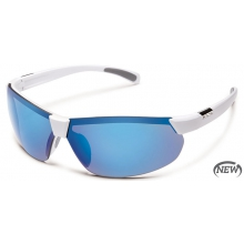 Switchback  - Blue Mirror Polarized Polycarbonate by Suncloud in Anchorage Ak