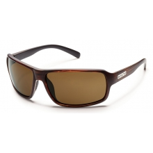 Tailgate - Brown Polarized Polycarbonate by Suncloud in Golden Co