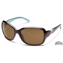 Weave  - Brown Polarized Polycarbonate by Suncloud in Sandy Ut