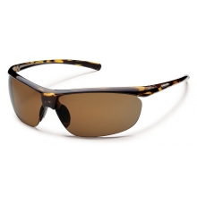 Zephyr - Brown Polarized Polycarbonate by Suncloud in Meridian Id