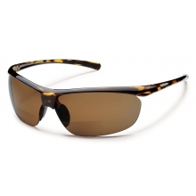 Zephyr +2.50 - Brown Polarized Polycarbonate by Suncloud in Juneau Ak