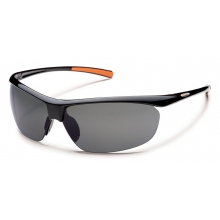 Zephyr - Gray Polarized Polycarbonate by Suncloud in Meridian Id