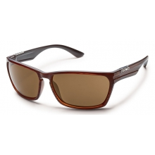 Cutout - Brown Polarized Polycarbonate by Suncloud in Meridian Id