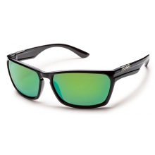 Cutout - Green Mirror Polarized Polycarbonate by Suncloud