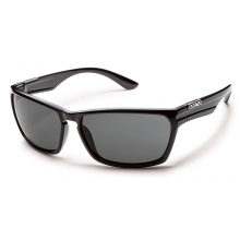 Cutout - Gray Polarized Polycarbonate by Suncloud in Meridian Id