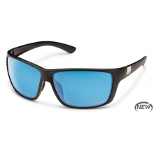 Councilman - Blue Mirror Polarized Polycarbonate by Suncloud in Golden Co