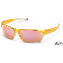 Detour - Pink Mirror Polarized Polycarbonate by Suncloud in Wakefield Ri