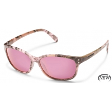 Flutter - Pink Mirror Polarized Polycarbonate by Suncloud in Logan Ut