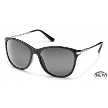 Nightcap - Gray Polarized Polycarbonate by Suncloud in Sandy Ut