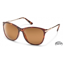 Nightcap - Brown Polarized Polycarbonate by Suncloud in Meridian Id