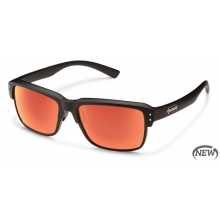 Port O Call - Red Mirror  Polarized Polycarbonate by Suncloud in Sandy Ut