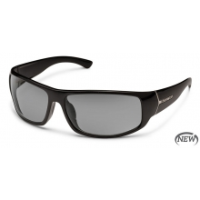 Turbine - Gray Polarized Polycarbonate by Suncloud in Golden Co