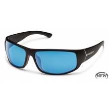 Turbine - Blue Mirror Polarized Polycarbonate by Suncloud in Sandy Ut