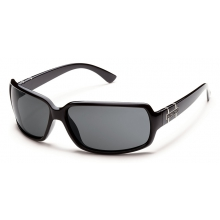 Poptown - Gray Polarized Polycarbonate by Suncloud in Meridian Id
