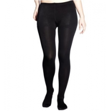 HOTTOTTIES Fleece Heavy Footy Performance Leggings - Women's - Black In Size in Pocatello, ID