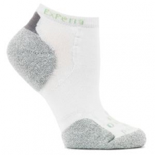 Experia Micro Mini Crew Running Sock Adults', White, L by Thorlo