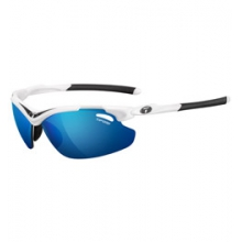 Tyrant 2.0 Interchangeable Lens Sunglasses with Clarion Lenses - White/Black/Clarion Blue/AC Red/Clear by Tifosi