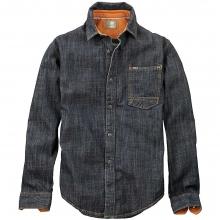 Men's Long Sleeve Slim Mumford River Denim Overshirt