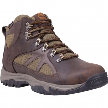 Men's Bridgeton Mid Fabric and Leather Waterproof Boot by Timberland