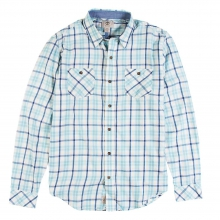 Men's Long Sleeve Warner River Flannel Shirt by Timberland