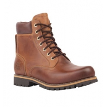 Rugged 6-Inch Waterproof Boots - Men's - Copper Full-Grain In Size in State College, PA
